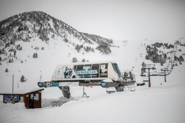 noticia ski Vallter 2000 abre finalmente este lunes tras las intensas nevadas