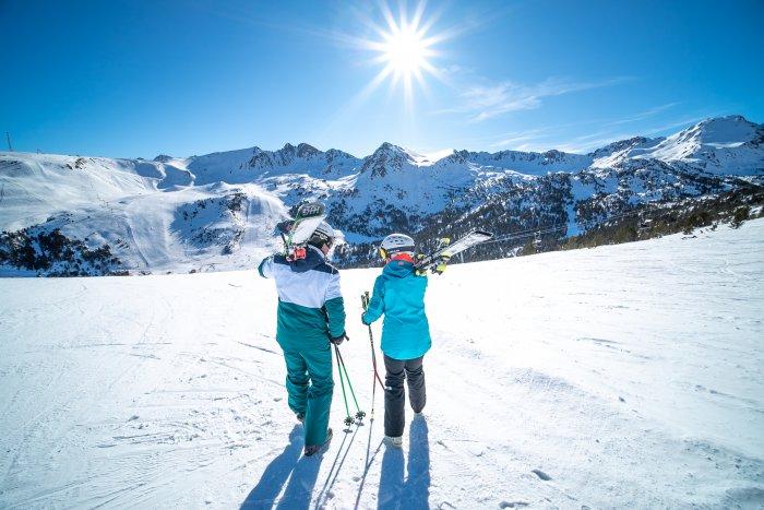 noticia ski Grandvalira, el plan perfecto para disfrutar el Día de San Valentín