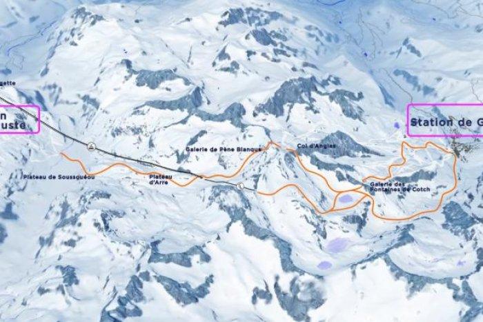 noticia ski Unir Gourette con Artouste, uno de los principales objetivos de la asociación Renouveau Val d'Ossau