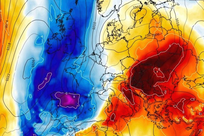 noticia ski ¡Llega un cóctel explosivo!, una masa muy fría avanzará sobre media España con lluvias y nevadas