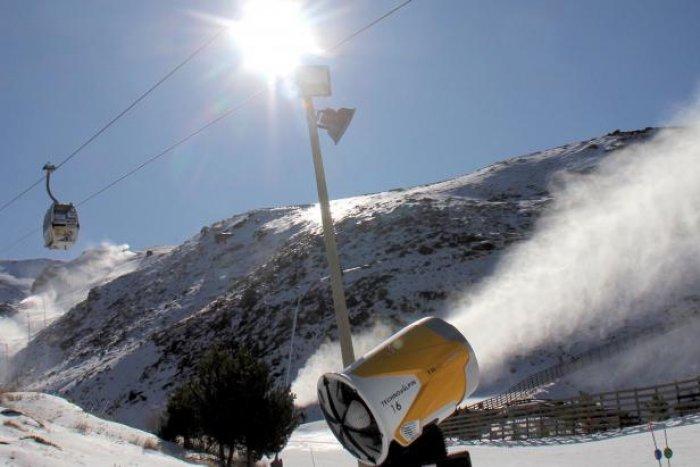noticia ski Sierra Nevada comienza los preparativos para la nueva temporada de esquí