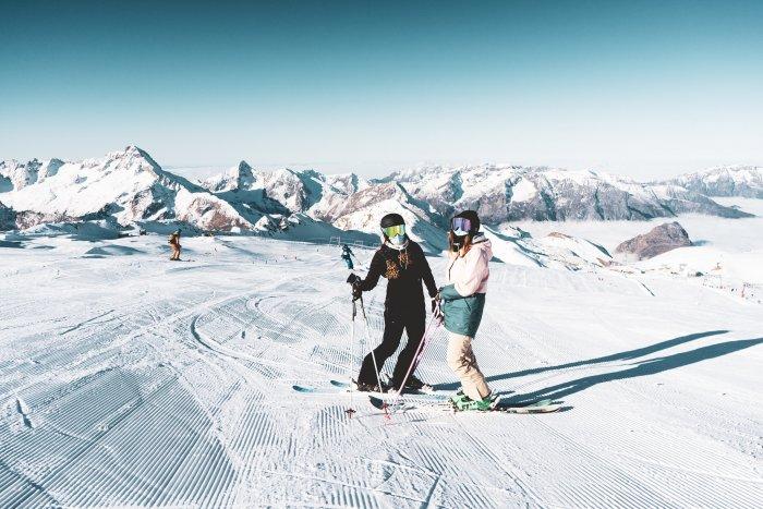 noticia ski Así han abierto los glaciares de las estaciones de Tignes y Les Deux Alpes