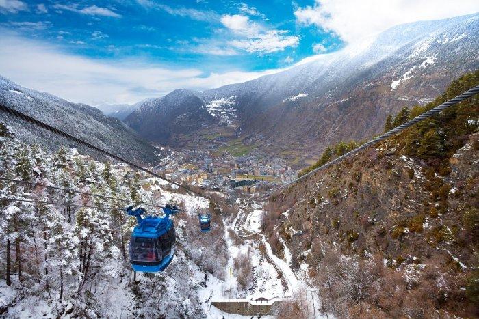 noticia ski Situación epidemiológica en Andorra
