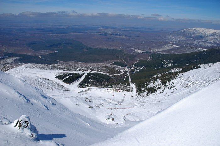 noticia ski REPORTEROS DE NIEVE 3.0:Te enseñamos cómo está La Pinilla