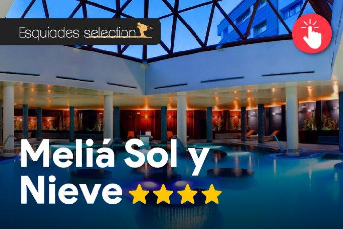 noticia ski Esquiades Selection presenta: Hotel Meliá Sol y Nieve 4*