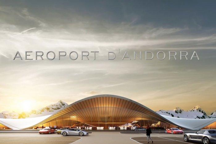 noticia ski Andorra presenta el proyecto para su aeropuerto junto a las pistas de esquí de Grau Roig