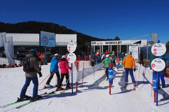 noticia ski Masella pone punto y final a su temporada con 119 días de esquí