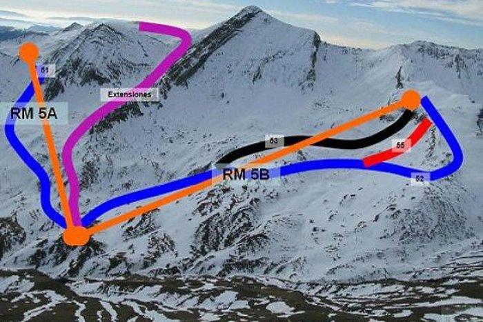 noticia ski Aragón toma medidas urgentes para que no se detengan las obras de ampliación de Cerler