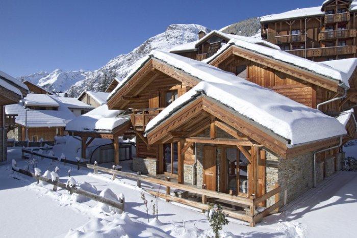 noticia ski Los mejores chalets de esquí a pie de pistas en Francia.