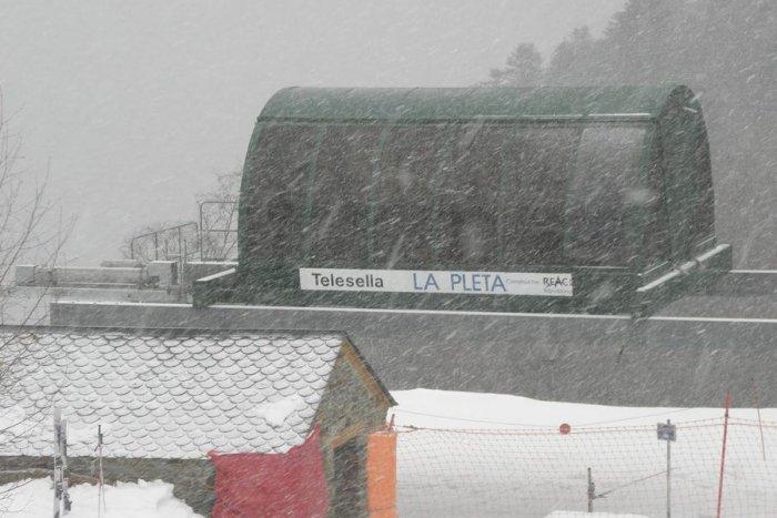 noticia ski Nuevas barreras anti-avalanchas en la estación de esquí de Tavascán