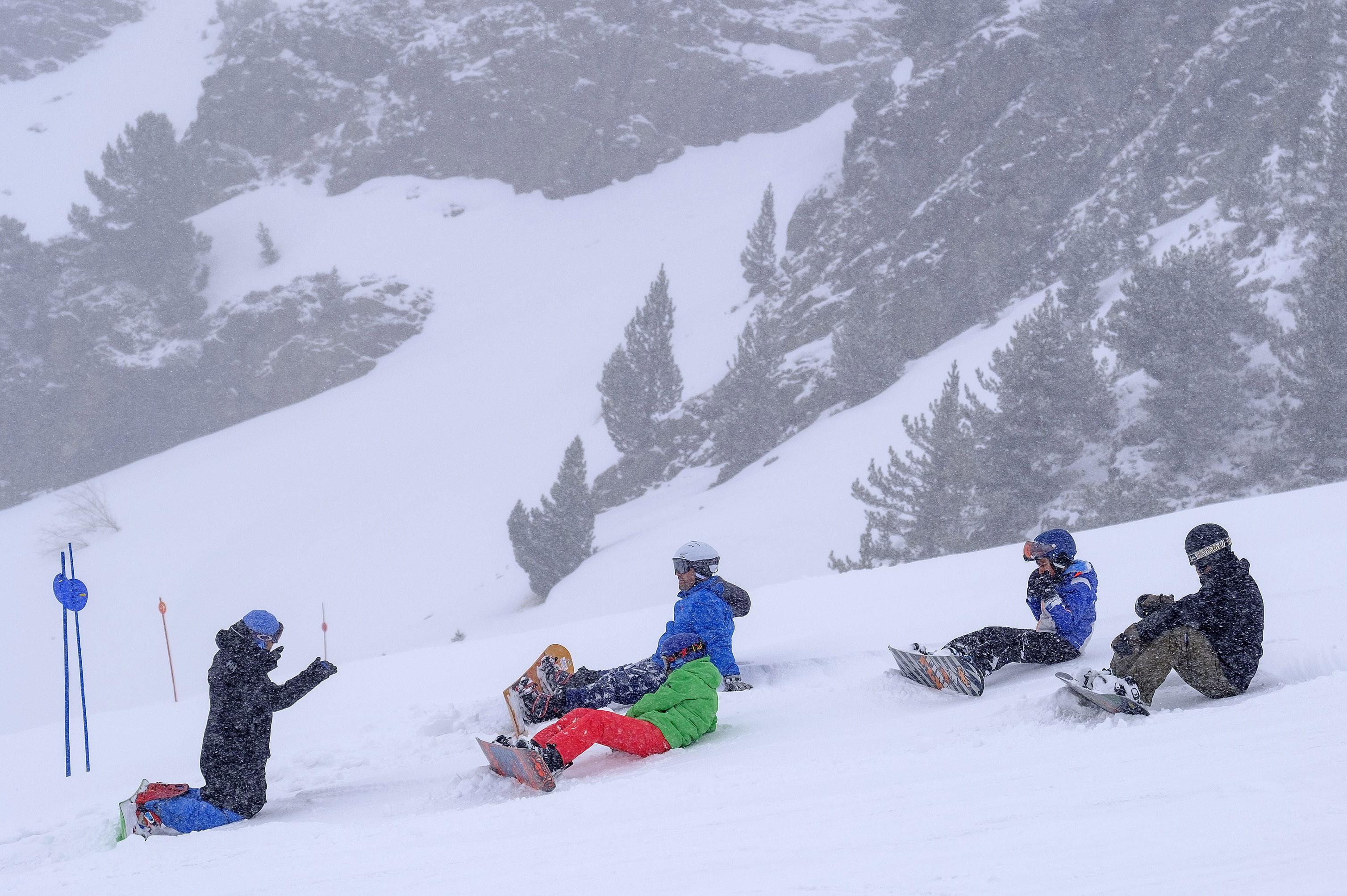 noticia ski Aramón empieza abril con nieve fresca en sus pistas y muchas actividades de esquí
