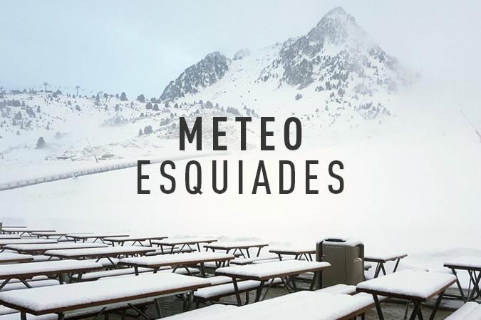 noticia ski Meteo Esquiades: el tiempo en pistas (04/04/2019)