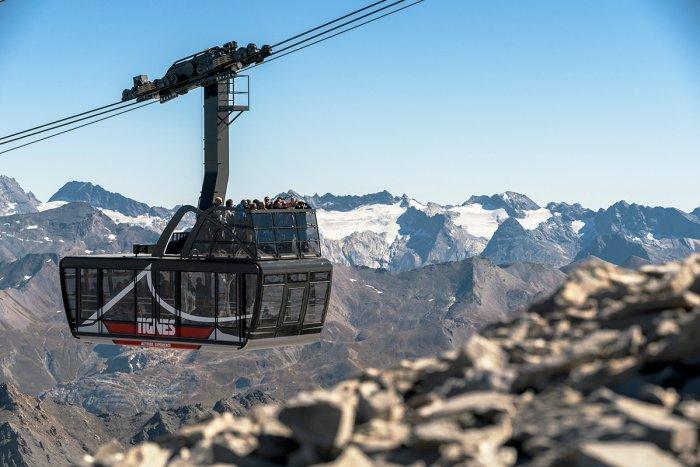 noticia ski El esquí de verano empieza el 22 de junio en Tignes y estrenan un teleférico con terraza