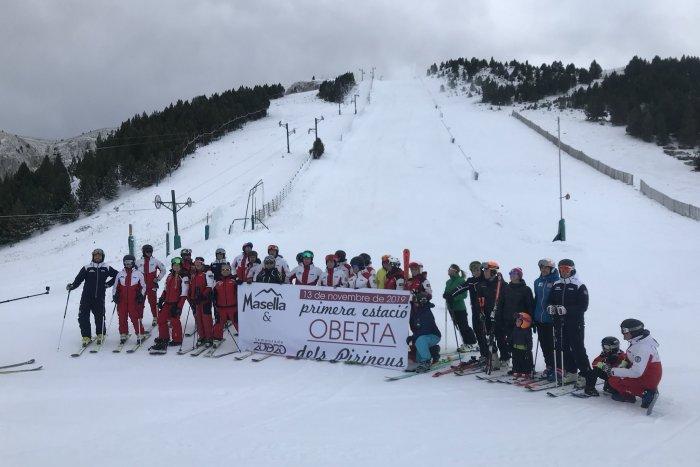 noticia ski Hoy 13 de noviembre Masella inicia la temporada 2019-2020