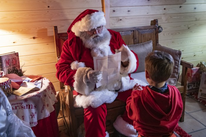 noticia ski Los niños de CorAllFamily viven una tarde mágica en Grandvalira con la entrega de la carta a Papá Noel