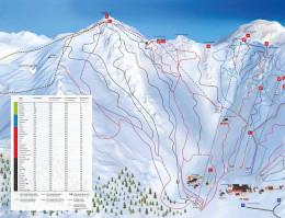 Mapa pistas Boí Taüll