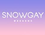 Logo Snow gay weekend 2019