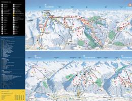 Mapa pistes Davos Klosters Mountains