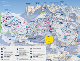Mapa pistas Grindelwald