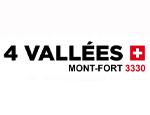 Logo Les 4 Vallées (Verbier, Nendaz, Veysonnaz i Thyon)