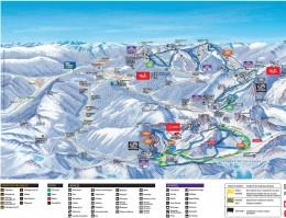 Plan des pistes Vallnord