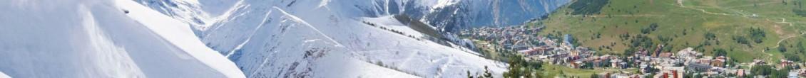 Férias na neve em Verão em Les 2 Alpes, hotel + forfait