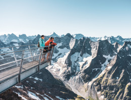 Map of the ski resort Summer in Les 2 Alpes