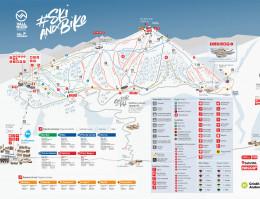 Mappa della stazione sciistica Vallnord Pal-Arinsal