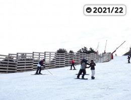 Map of the ski resort Valdelinares
