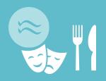 Logo Caldea + Abendessen im Aquatic Restaurant + Show